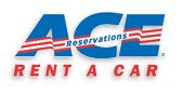 Ace Car Rental Logo